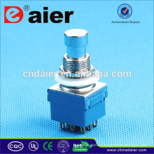 Daier 3PDT latching Gold Plated pedal interruptor pedal pedal interruptor