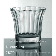 2013 most popular flower cup/wine glass/glassware/glassware /glass bottle/wine glass/drink glass with embossed logo