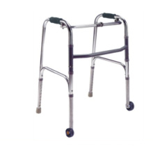 Aluminum Walker with Castors