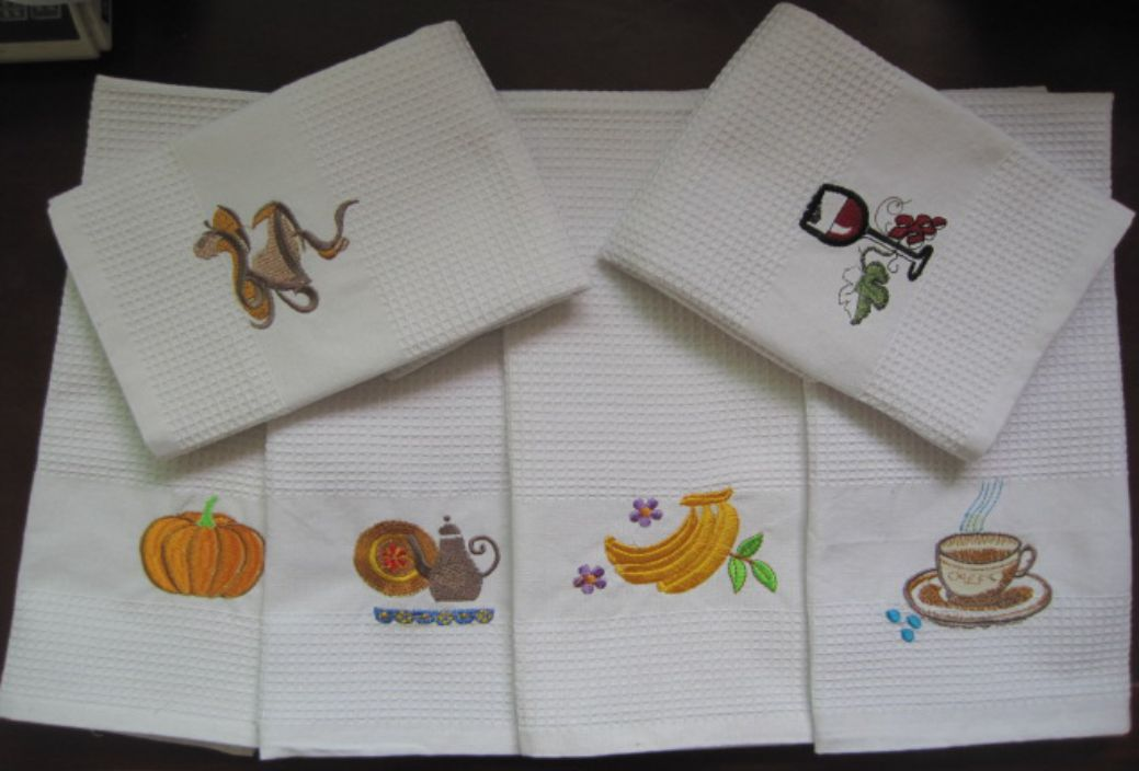 Luxury Tea Towel Set