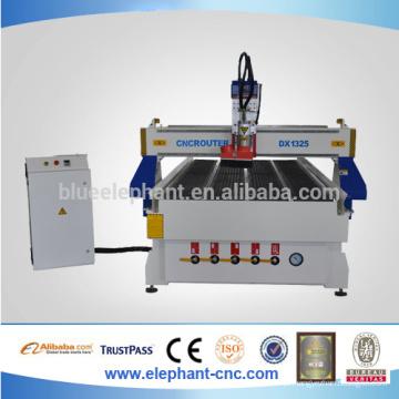 China econômica atc cnc router para o trabalho de madeira processo de alumínio de metal