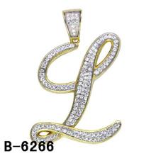 Colgante de alta calidad de la letra de la joyería de la plata esterlina 925