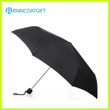 Black Travel Premium Automatic Folding Umbrella