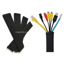 Neoprene Cable Organizer Wrap with zipper