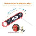 Termómetro electrónico de cocina digital impermeable con abrebotellas con interruptor C / F