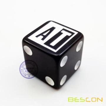 16MM Square Dice with Custom LOGO on 1st Side