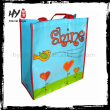Recyclable white pp woven bag for rice