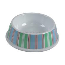 Printing Plastic Food Grade Dog Food Bowl, Plastic Pet Bowl
