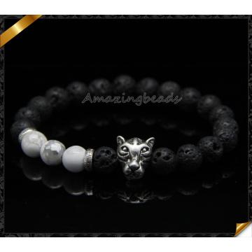 Mode Stein Armbänder Schmuck mit Silber Charms (CB084)