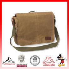 Nuevo bolso de documento portátil Bolsa de mensajero de mujer bolso de hombro para hombre (ES-Z331)