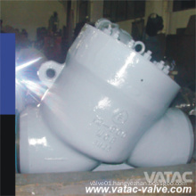 ANSI Wcb/Lcb/Wc6/Wc9/CF8/CF8m Y Check Valve with Bw Ends