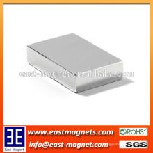Fabrikgewohnheit gesinterter Neodym-Blockmagnet F20x10x3mm / ndfeb Permanentmagnet für Verkauf