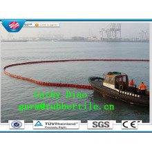 China Factory Supply PVC Oil Boom, Oil Absorbent Boom, PVC Booms Inflatable Oil Boom