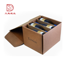 Fabrik direkt nach Maß Einweg-Fabrik Karton Bier Wein Karton Boxen