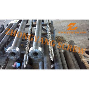 Moldeo a presión tornillo barril PP inyección barril del tornillo