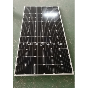 300w Mono Solar Panel Mounting on The Pole