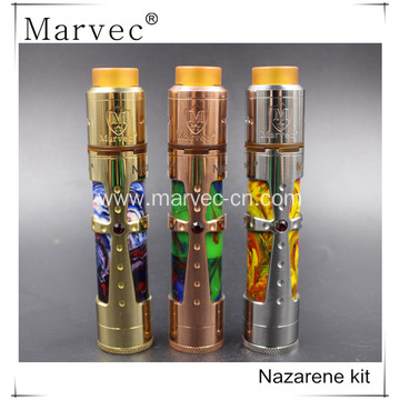 Factory price Marvec electronic cigarette MOD Brass material