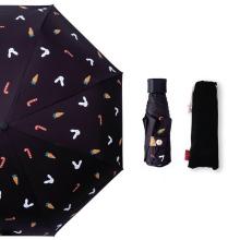 New Style Sun Protection UV Travel Portable Super Mini Pocket Compact Capsule 5 Five Folding Umbrella