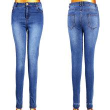 Großhandelsdame Blue Jeans mit 5 Taschen