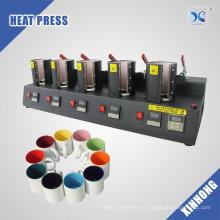 5en1 taza de la sublimación de la máquina de la prensa del calor máquina mágica de la transferencia de la taza