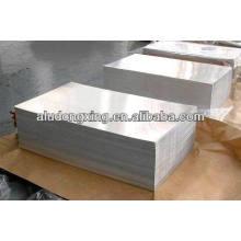 Feuille d'aluminium pour châssis automobile