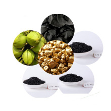 Carbono ativado granular do escudo de coco da mineração do ouro da alta qualidade por atacado para a venda