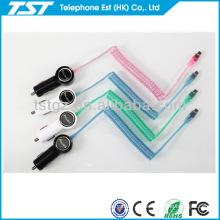 Cargador de coche con cable para Iphone5