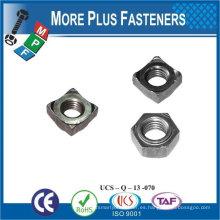 Hecho en Taiwán Acero inoxidable Latón Aluminio Silicona Bronce Hexágono Núcleos de soldadura DIN 929