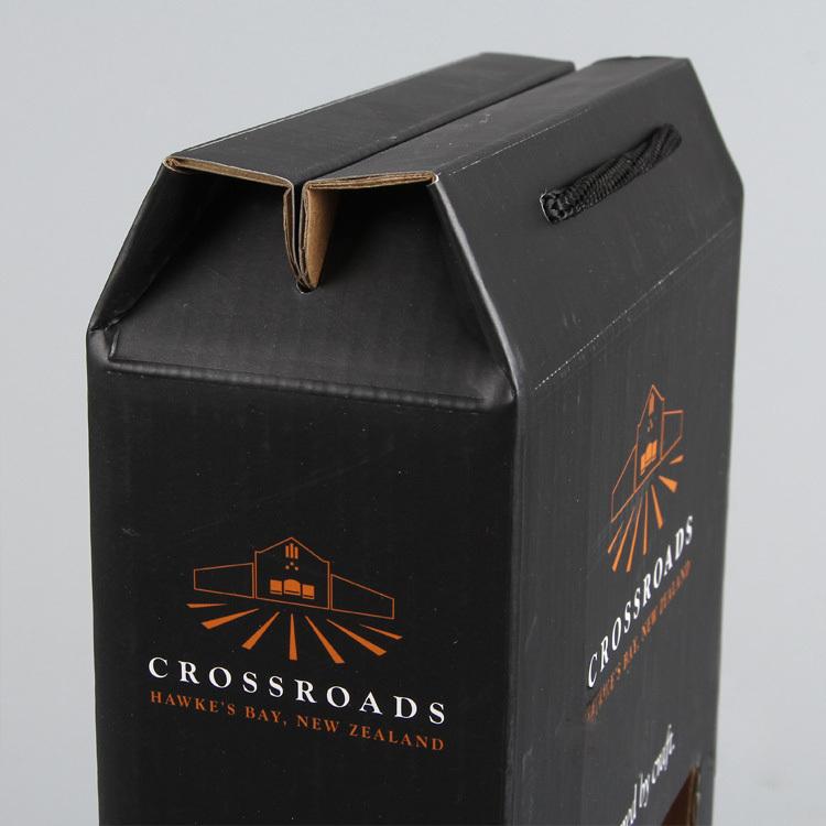 Corrugated Wine Box