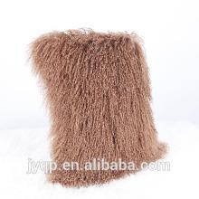 2018 Nueva oveja de piel de cordero de Mongolia tibetana pura SKin