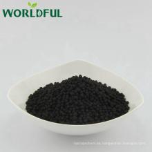 Fertilizante de ácido húmico de alto grado y alta eficiencia, ácido húmico de mejor calidad granular para la agricultura