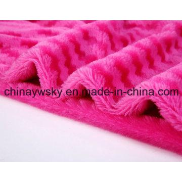 Screw Rose Fabric/Rose Fleece/PV Fleece/Toy Fabric