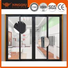 Хорошая производительность Хорошая герметизация алюминиевых дверей с внешней стороны