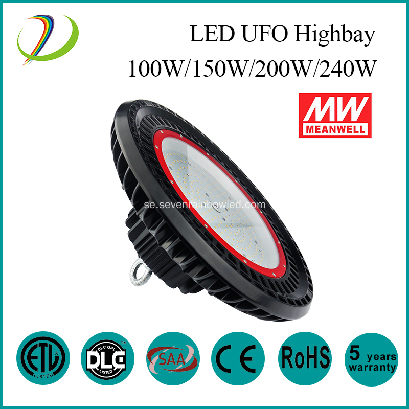 ETL 200W UFO Led High Bay Lights