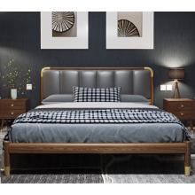 Металлическая кровать современного дизайна