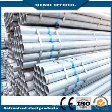 Q235 Gi en acier au carbone Pipe Pipe en acier galvanisée