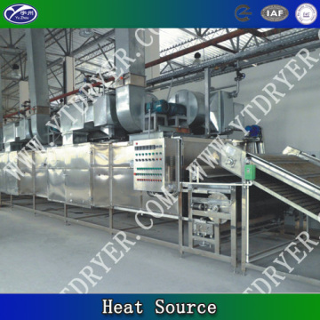 Conveyor Belt dryer for coconut
