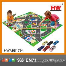 Os miúdos superiores da venda jogam o tapete dos miúdos da xadrez da esteira do assoalho