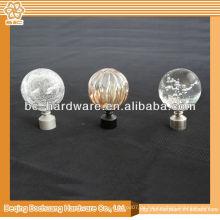 Resin Vorhang Finial For Rod, Kristall Vorhang Finial, Vorhang Pole Finial, Metall Vorhang Finial, Glas Vorhang Finial