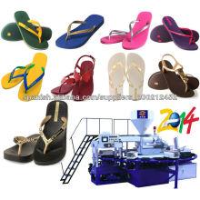 Zapatillas y sandalias de PVC que hacen la máquina