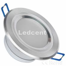 Down Light (3W 2,5 pouces downlight encastré, Dimmable, 330lm, CE RoHS, FCC)