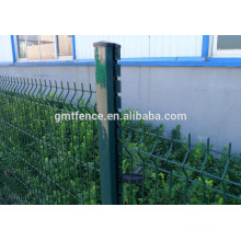 PVC/PE Coated Welded Iron Wire Mesh Fence/ Triangle Bending Fence