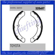 K2266 GS8460 04495-36050 04495-36051 04497-36060 0449536050 0449536051 0449736060 V91187020 for Toyota fitting brake shoes