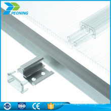 Lamelle de fixation de sciage en polycarbonate de 10 mm