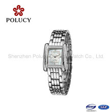 Lady Watch Stainless Steel Back Water Resistant Quartz Watch