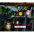 Wetterfeste kommerzielle Heavy Duty Vintage Terrasse Patio Edison 21 Ft. Lichterketten