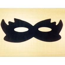 черный нетканый разглаживания маска для глаз горячий черный глаз маска