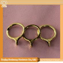 2014 más nuevos anillos del poste de la cortina de la alta calidad