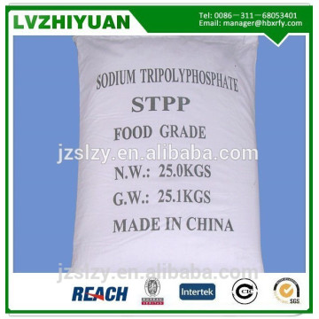 Tripolifosfato de sodio al 94% para aditivos alimentarios / grado industrial