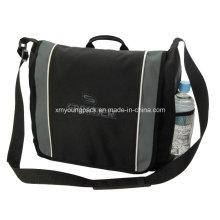 Promotional Black Polyester Business Satchel Bag